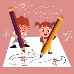 Παιδική γραφική ύλη
